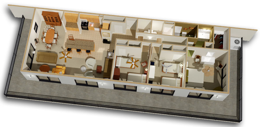 Sea Watch Floor Plans Cad Room Layout Amp Blueprint